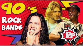 TIER LIST: 90s Rock Bands