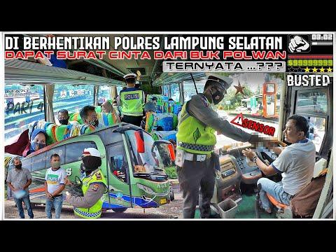 DI STOP POLRES LAMPUNG SELATAN (ALS 253) Dapat Surat Cinta Dari Buk POLISI BUKAN TILANG LALU APA..??