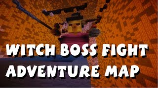 minecraft pocket edition witch boss fight adventure map by serperior