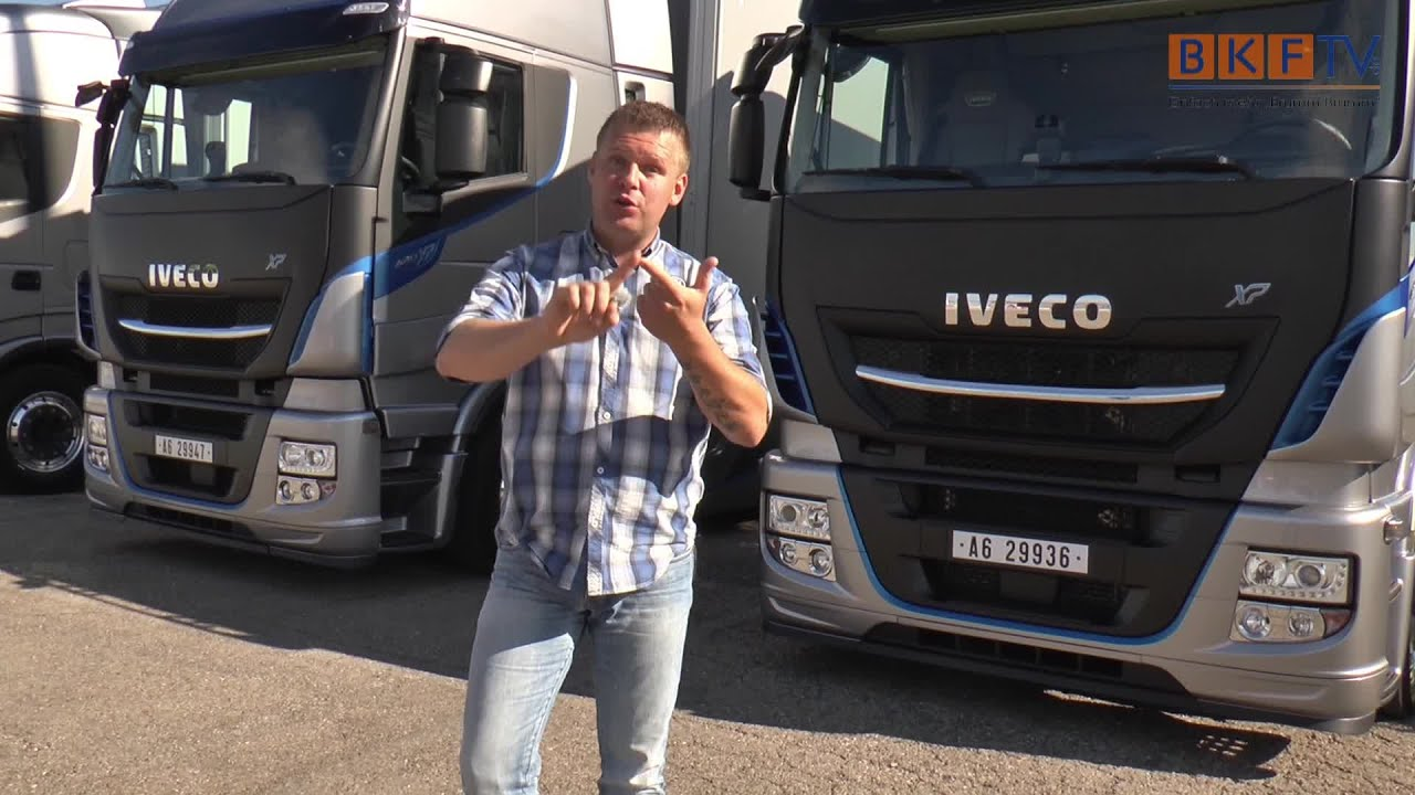 Iveco Stralis Highway Xp 2016 Weltpremiere Tco 178 Champion