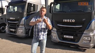 Iveco Stralis Highway XP 2016 Weltpremiere - TCO² Champion - BKF.TV Reportage