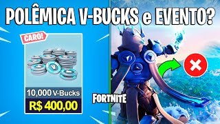 FORTNITE-V-BUCKS PLUS EXPENSIVE and BAD EVENT?