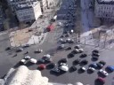 traffic on Place Charles de Gaulle