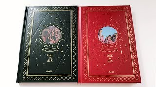 Panda Unboxes Apink 에이핑크 7th Mini Album One & Six (One + Six Version)