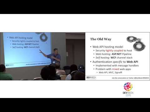 Securing web APIs the new way with OWIN and Katana - Anthony Sneed