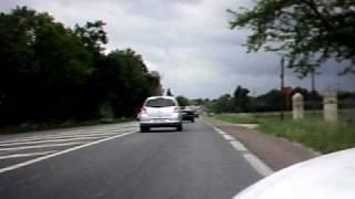 Velomobile Quest : Libourne Arveyres  Aller/Retour