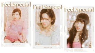 "TWICE ""Feel Special"" Teaser Photos of Nayeon, Jeongyeon, & Momo [A Version]"