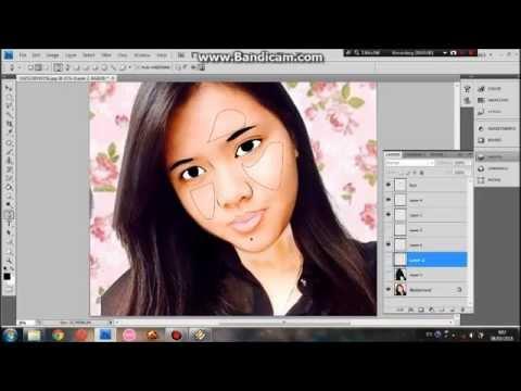 Cartoon effect Tutorial Photoshop CS4