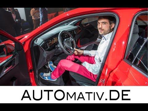 Volkswagen VW Polo (2018) Review, erster Eindruck Polo GTI und R-Line   Premiere in Berlin