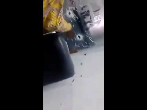 Live video of the armed robbery attack on Lagos banks