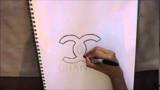 How To Draw the Chanel Logo