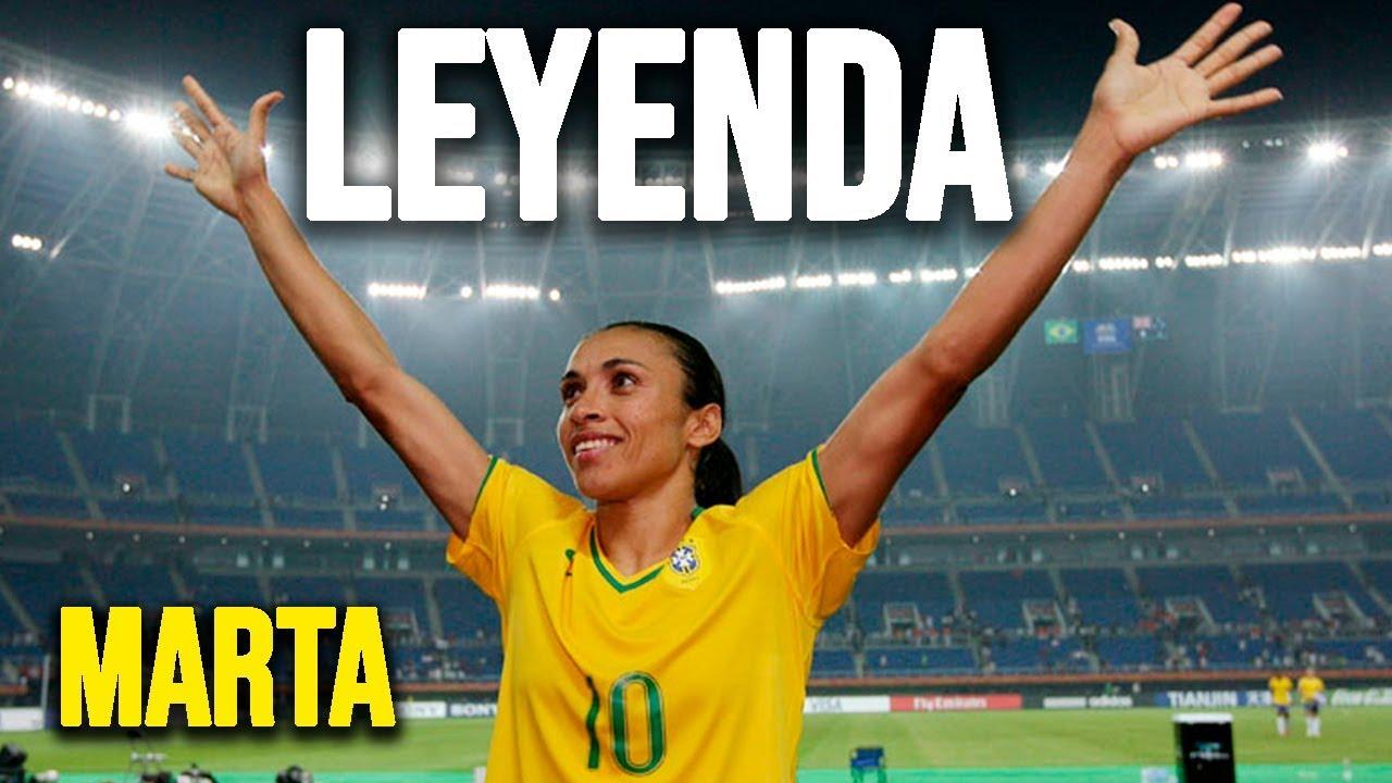 Marta Vieira de 33 años, 6 veces elegida la mejor jugadora del planeta, símbolo por la igualdad de género en el deporte