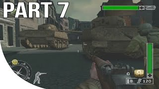 Call of Duty Finest Hour Gameplay Walkthrough Part 7 - Western Front - Mission 1
