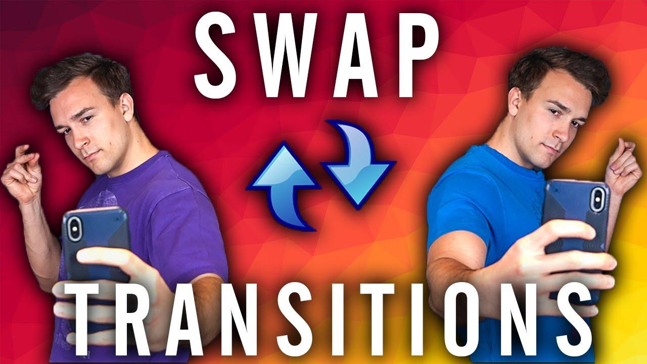 Swap Transition Tik Tok Tutorial Youtube