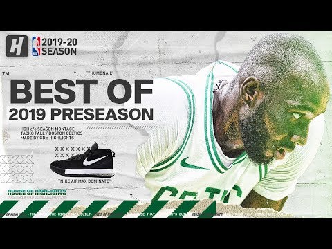 Great thing about sports is appreciating things that are different. Tacko Fall highlights from Preseason and Summer league. Whatever your opinion of him—he's different for sure