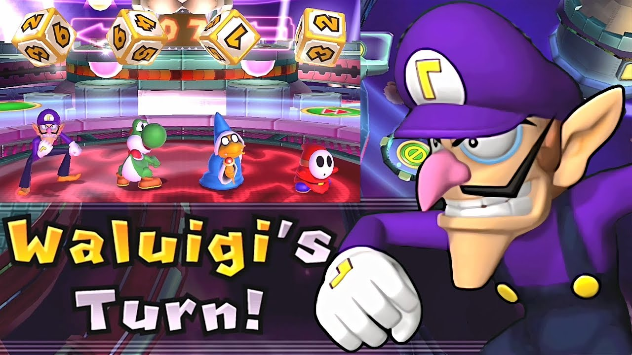 Mario Party 9 Solo Mode Waluigi Bowser Station Part 6 247 Youtube