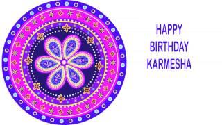 Karmesha   Indian Designs - Happy Birthday