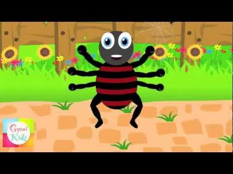Incy Wincy Spider - Sing-A-Long (Karaoke version with lyrics)