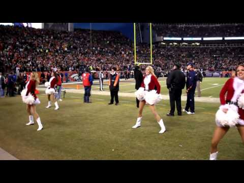 Denver Broncos Cheerleaders touchdown dance