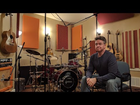 Recording drums for this week's cover video - LIVE (A Little Respect) [High Quality Audio]