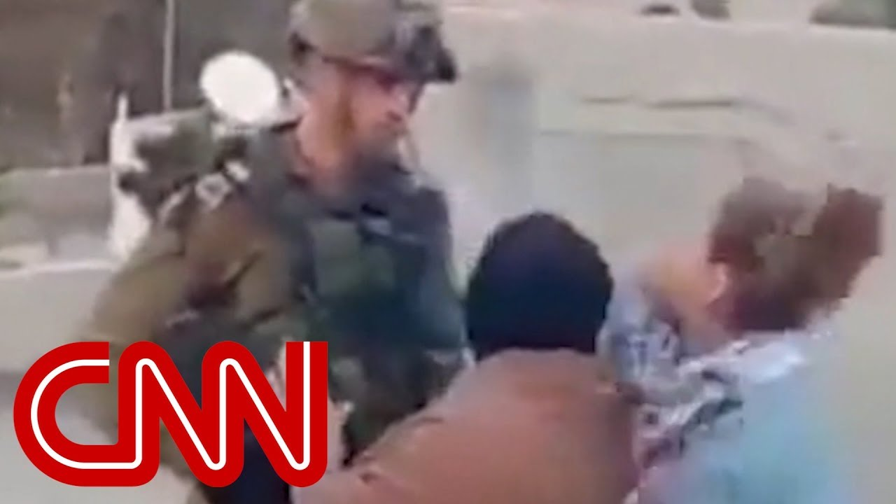 Palestinian teen jailed for slapping soldier - Dauer: 5 Minuten, 14 Sekunden