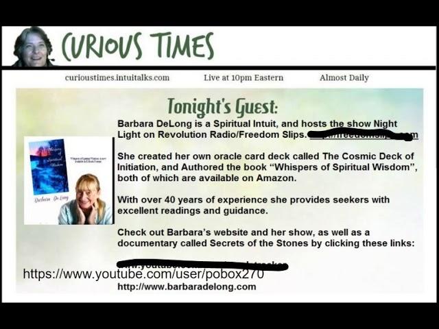 Curious Times – Spiritual Intuit, Barbara DeLong