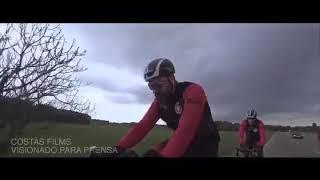 Las imágenes del atropello en bici al actor Dani Rovira