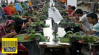 Modern day slavery for clothing in the Western World - The story behind the hanger - Truthloader