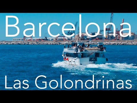 Barcelona - Las Golondrinas Skyline Tour (Stabilised GoPro Hero 4 Silver)