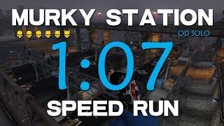 Payday 2 - Murky Station OD solo Speedrun[WR 1:07]