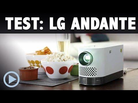 Test: LG Andante HF80J Laser Full HD Smart Beamer Vorstellung HF80JS
