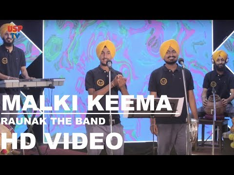 Malki Keema Traditional Punjabi Folk Song Raunak The Band USP TV