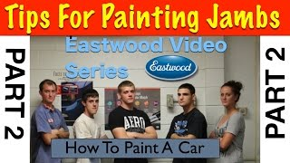 How To Mask and Paint Door Jambs - Eastwood Jambs Part 2