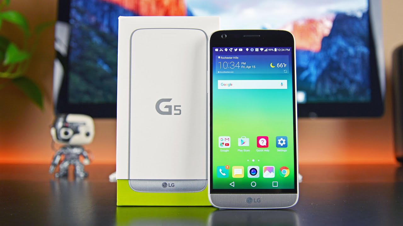 LG G5: Unboxing & Review
