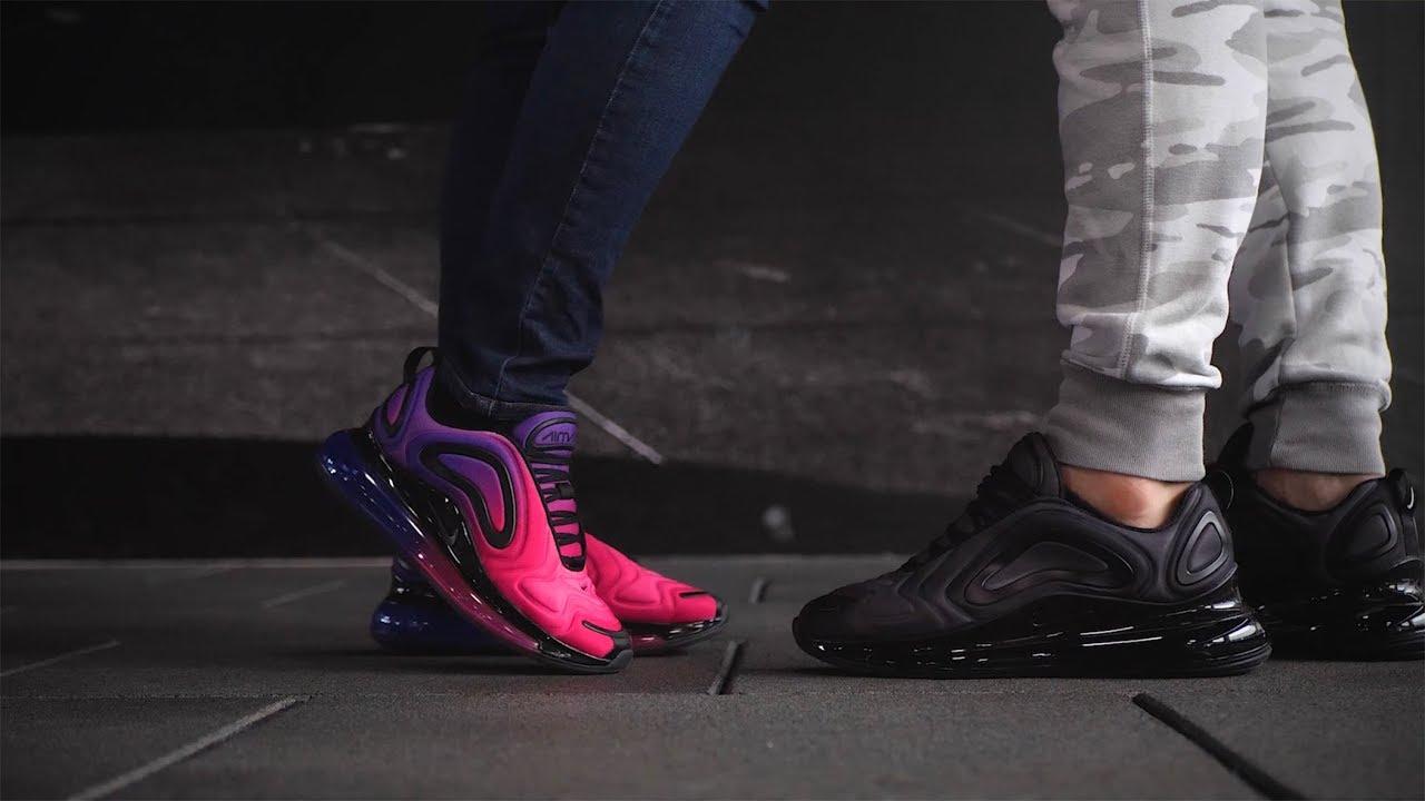 New Nike Air Max 720 On Feet Youtube