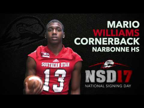 SUU NSD17 Mario Williams