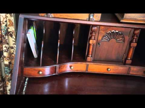Antique Furniture Governor Winthrop Desk 1924.