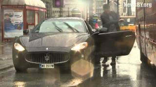 NEW Maserati GranTurismo accident in Poland!!ДТП Maserati аварии