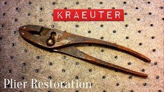 Kraeuter 356-10 Pliers Restoration