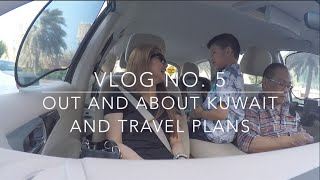 Vlog No . 5: Out And About + Update! The Gate Mall, Argo Tea, Kuwait Life, Alone&cuddle Time!