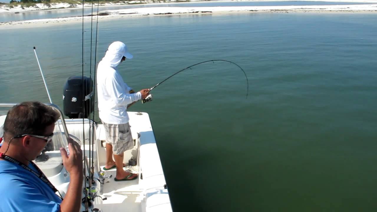 Cape san blas fishing the red fish 2012 youtube for Cape san blas fishing report