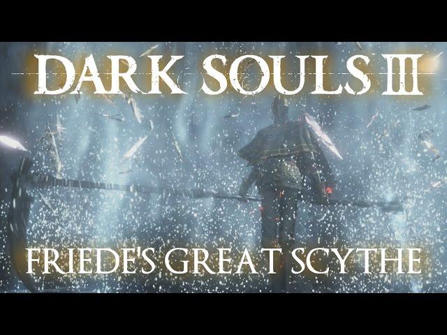 Friede's Great Scythe Moveset (Dark Souls 3)