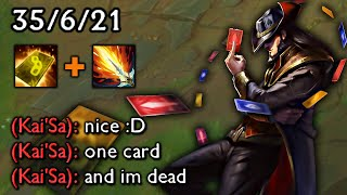 TWISTED FATE is not BALANCED
