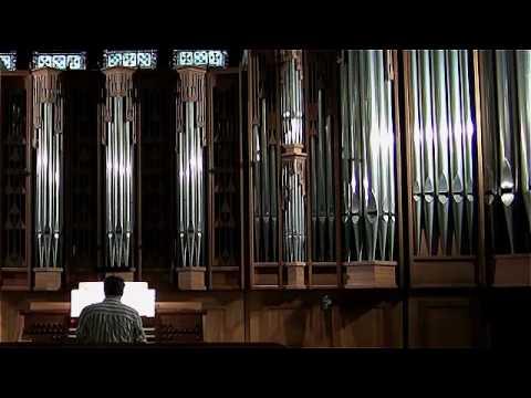 "Anthony Newman Performs ""Fantasia Te Deum"""