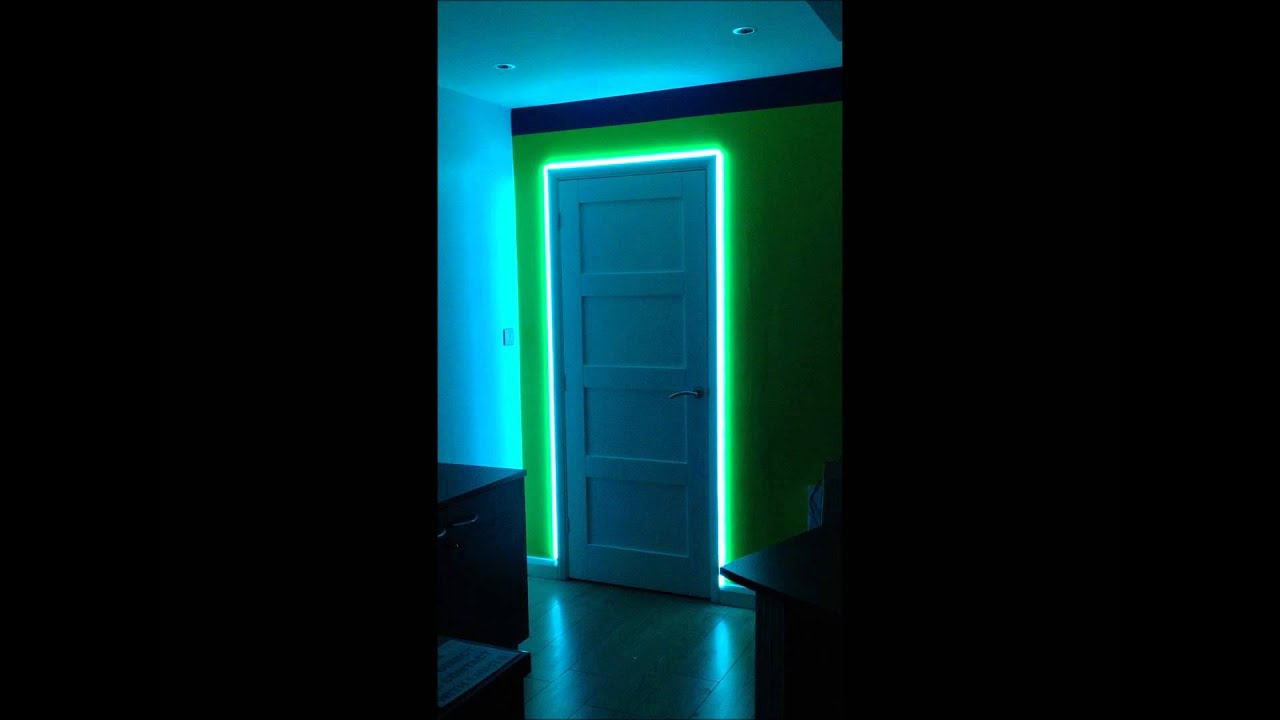 LED Ideas - LED Colour Changing Door Frame