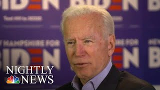 Joe Biden On Health Care And 'What Matters' Most To 2020 Voters | NBC Nightly News