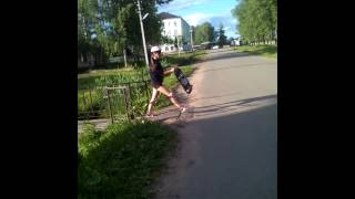 #Видеоурок катания на скейте#Ангелины Чулковой💲