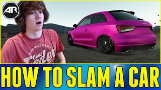 forza horizon 2 stance audi s1 build how to slam a car