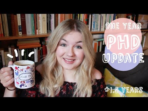 Life as a PhD Student Update | Years 1-1.5