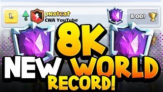 HE GOT 8,022 TROPHIES! NEW WORLD RECORD! 🏆